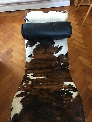 Replica Vintage le Corbusier Leather Cowhide Chair Recliner Lounger LC4