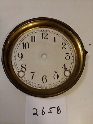 Sessions Mantle Clock Dial & Bezel No Glass