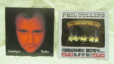 Phil Collins No Jacket Required & Serious Hits Live! 2 CD Set Cd7010