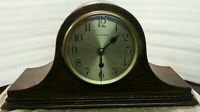 Antique napoleon hat clock timepiece only