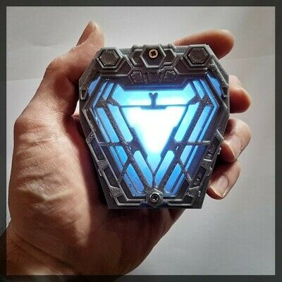 Arc Reactor Nano Replica from Infinity War Iron Man Tony Stark Avengers