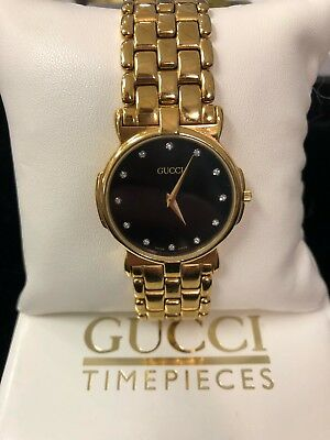 63004ff1963 Men s GUCCI 3400 M quartz Watch   New Battery