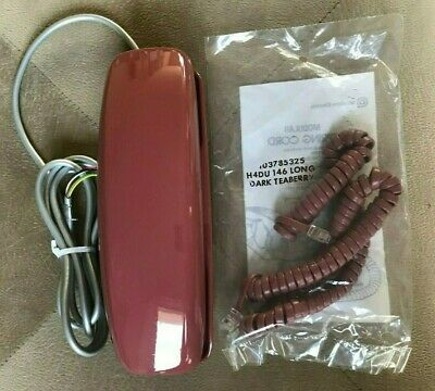 Western Electric ROUND BUTTON Touchtone TRIMLINE Desk Telephone TEABERRY