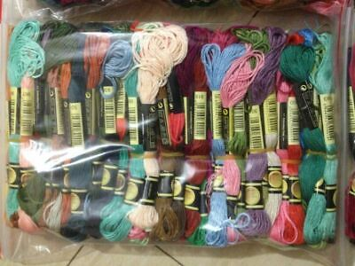 cross stitch CXC threads Total 50 Pieces Embroidery Thread Cross