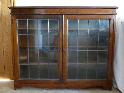 Vintage / Antique Oak Bookcase - Early 20th Century