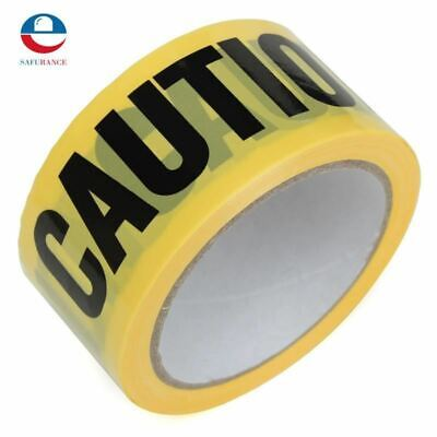 50mx5cm Roll Yellow Caution Tape Sticker For Safety Barrier For Police Barricade