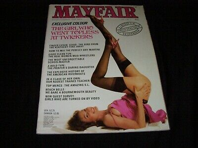 Mayfair Vintage Men'S Magazine Vol 17 No 3 Year 1982