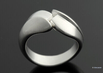 Georg Jensen Sterling Ring By Gail Spence  Size 6½  ***free Shipping***