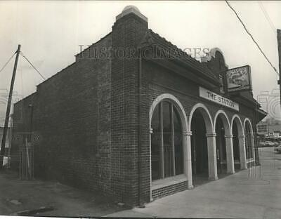 """1983 Press Photo The Station Restaurant on """"The Curve"""" in Homewood, Alabama"""
