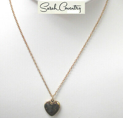3c8aa120f9c7f3 Vintage Sarah Coventry Jewelry -  3022 Simple Heart Necklace