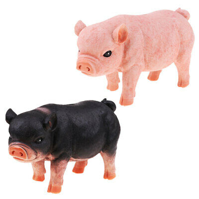 Cute Pig Piggy Bank Collectible Chinese Zodiac Pig Figurine Storage Coin Box