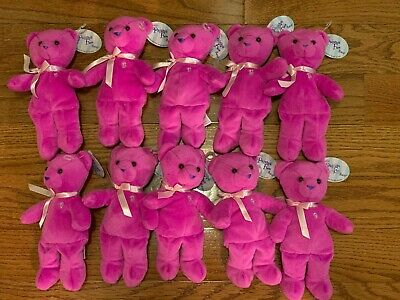 Hang tags attached  NEW Target Excluive Hot Pink-  Pajama Fun Bear Barbie