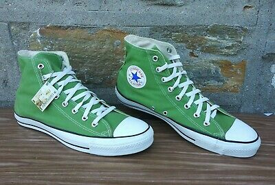 be8d05dd1924 Vintage Made In USA Converse All Star Chuck Taylors Mens High Top 11.5 Green
