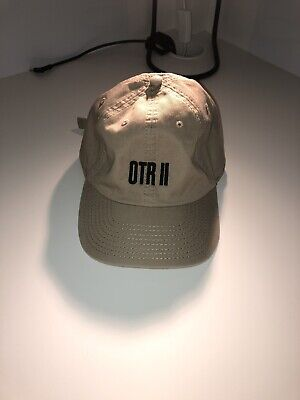 a57489426f542 BEYONCE AND JAY Z Official 2018 OtrII Tour Tan Dad Hat On The Run ...