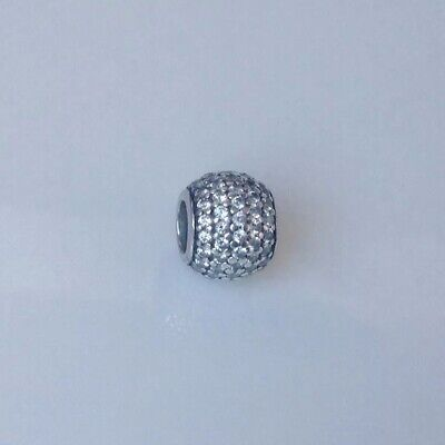 c566b7931 PANDORA SILVER PAVE Feather Charm with Cubic Zirconia - 791186CZ RRP ...