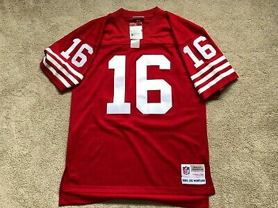 low cost bbefb a68c7 NEW JOE MONTANA San Francisco 49ers Mitchell&Ness NFL $150 NWT Jersey Men  Medium