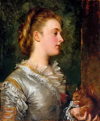 Dream-art Oil painting george frederick watts dorothy tennant later lady stanley