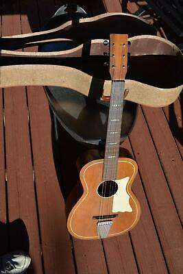 Acoustic Flat Top Guitar S-61-HB Made in USA HVC markings