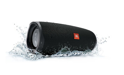 JBL Charge 4 Black Portable Bluetooth Speaker