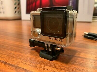 GoPro HERO 4 - Black Edition w/ LCD Screen and accessories