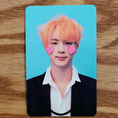 Jin Official Photocard BTS Love Yourself Answer F Version Genuine Kpop