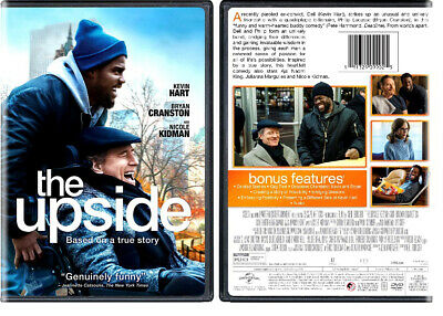 """THE UPSIDE"" New Sealed DVD Kevin Hart Bryan Cranston Nicole Kidman"