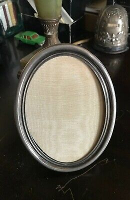 Antique TIFFANY & CO 16406 Sterling Silver Oval Picture Frame c.1907