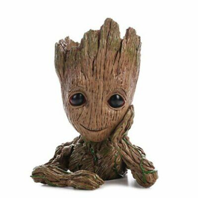 Baby Groot Flower Pot Marvel Action Figure Guardians Of The Galaxy Home Decor