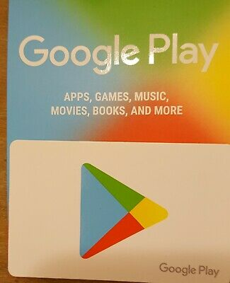 Four $25 Google Play Gift Card