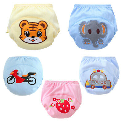 Baby Girls Boys Leakproof Nappy Diaper Toddler Reusable Pee Potty Training Pants