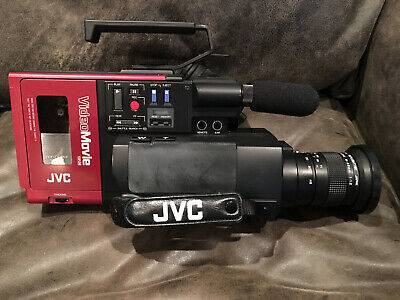 1984 JVC Video Movie Camera Camcorder GR-C1U Back To The Future (Works Great!!)