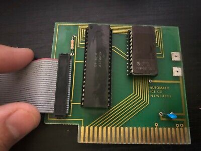 Apple II Parallel/Printer Card - ICE Newcastle, w/ Cable