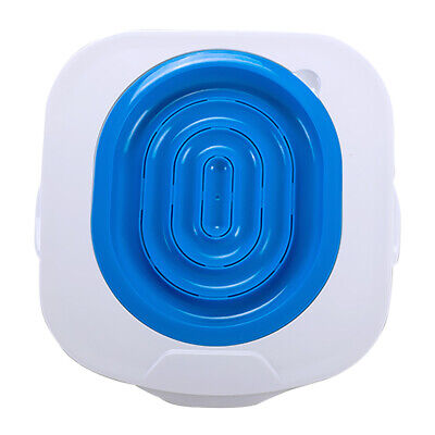Pet Cat Toilet Seat Training System Teach Cat to Use the Toilet Blue