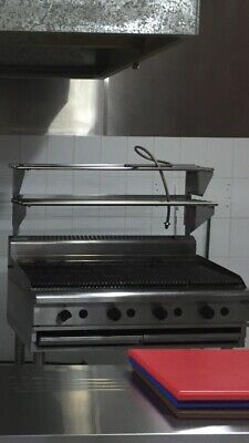 Waldorf 1200Mm Chargrill Char Grill Commercial Catering Nat Gas Ch8120G-Ls