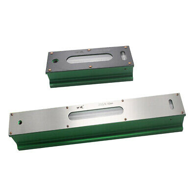 2 Pcs Precision Engineers Machine Bar Level, 0.02mm Premium Steel 100&250mm