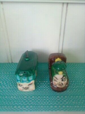Trains Salt And Pepper Shakers.