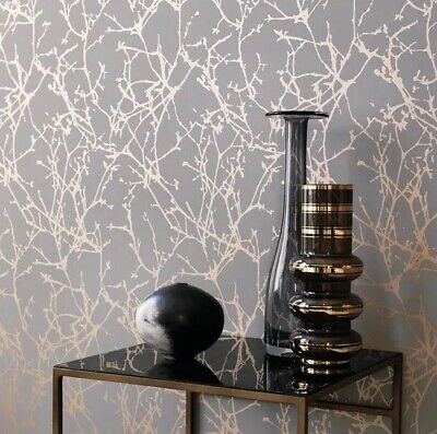 Romo Arbor Paste the Wall Wallpaper, Andesite W396/06 RRP £320 (4