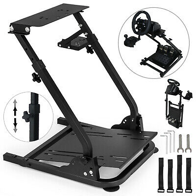 GT Omega Racing Simulator Steering Wheel Stand for G27 G29 PS4 G920 Gear shifter