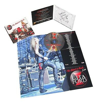 Lita Ford - The Bitch Is Back...live  Cd Neuf