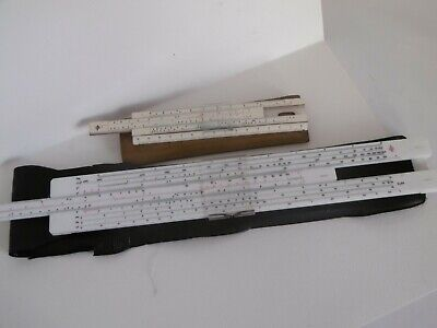 LOTTO VINTAGE  REGOLO CALCOLATORE SKALA POLAND SLIDE RULE slipstick