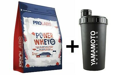 Prolabs Power Whey Ultra 1Kg Vaniglia Proteine Del Siero Di Latte Con Creatina