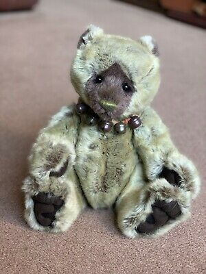 Charlie Bears Plumo THISTLE Bear (CB141493) - With Tags