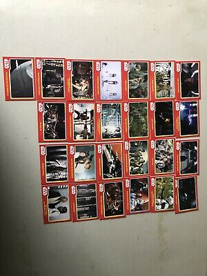 Star Wars Trading Cards Journey To The Force Awakens X25