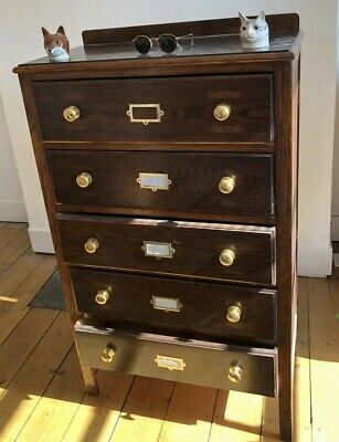 URGENT SALE NEEDED THIS WEEK- Antique 1920's Haberdashery Chest of Drawers