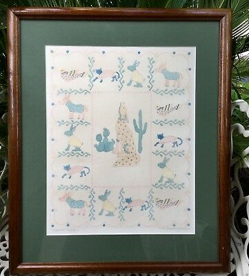 Screen Print,Textured Signed,Large,beautifully framed,EC