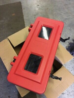 Single Fire Extinguisher Cabinet Box - FREE DELIVERY - Meets UK Fire Regulations