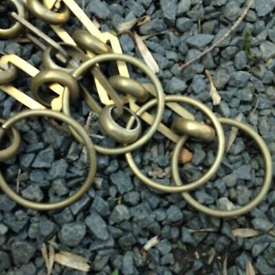 2 pieces of brass chain