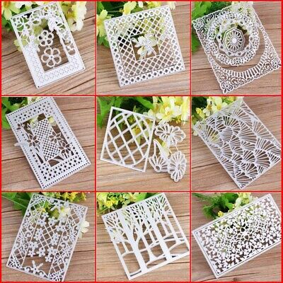 Card Making Metal Cutting Dies Frame For DIY Stamp Scrapbooking
