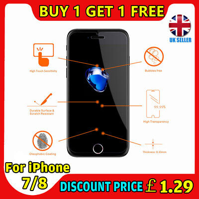 Sale! Samsung Galaxy S7 Genuine Tempered Glass Film Lcd Screen Protector Clear