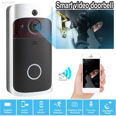 BE4F Portable Video Doorbell Camcorder Home Security Video Recorder